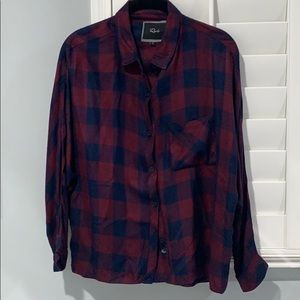 Rails Flannel Button Down Shirt Size S